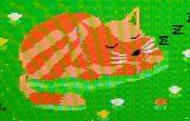 ねずみとチーズ取りゲームの猫